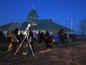 Earth Hour: Whitby Marina