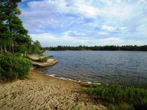Grundy Lake Provincial Park: Clear Lake