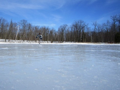 Terra-Cotta-Conservation-Area-Wolf-Lake-Skating